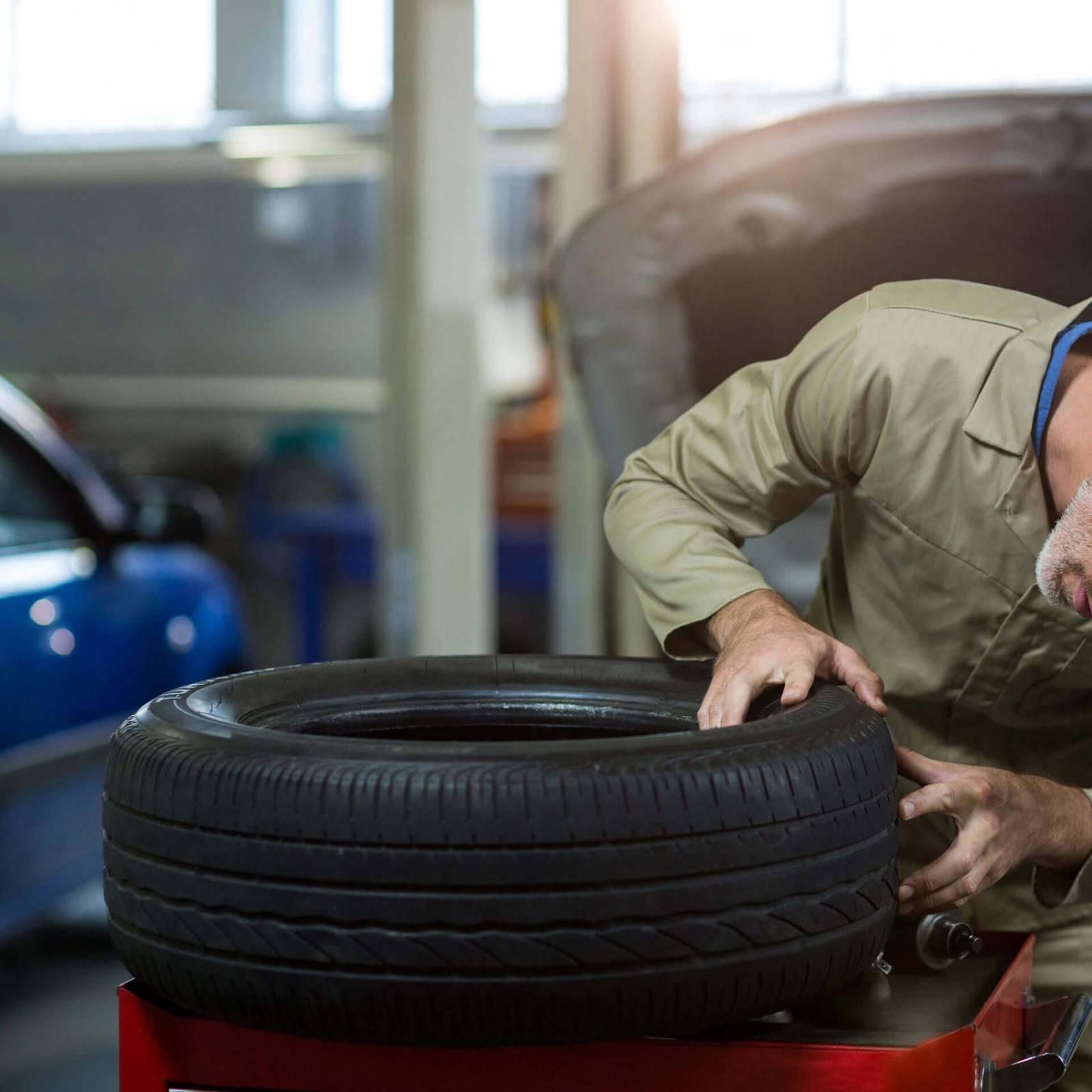 Conserto de pneus